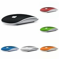 Apple MAGIC Mouse 1 2 - Carbon 3D Top Skin Wrap Cover Decal - 9 Colors Available