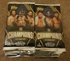 40x Topps WWE 2019 Champions Booster Packs (9 Cards/Pack)