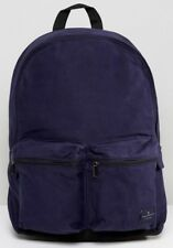 French Connection school Backpack Travel Hiking Men Rucksack Bag - Blue RRP $134