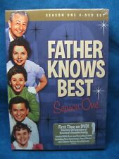 New FATHER KNOWS BEST Complete Season One 4-Disk Set 1954-1955 SEALED