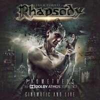 Luca Turilli's Rhapsody - Prometheus : The Dolby Atmos Experience NEW BLU-RAY