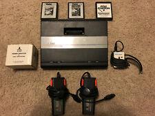 Atari 7800 ProSystem w/ games Centipede, Galaga, Pole Position II, 2 controllers