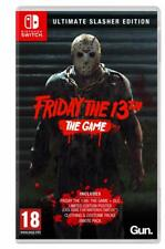 Friday the 13th Game Ultimate Slasher Edition Nintendo SWITCH Pre-Order 27/09/19