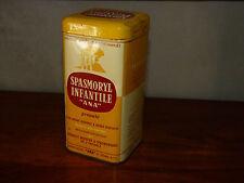 Boite ancienne en metal vintage Pharmacie Medicament SPASMORYL INFANTILE ANA #MH