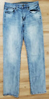 American Eagle Mens Jeans Size 30x34 Original Straight Blue