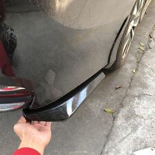 2x/Set Carbon Fiber Rear Bumper Lip Diffuser Splitter Canard Protector Universal