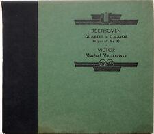 Beethoven Quartet in C Major/Victor Musical Masterpiece Series, Album M-171