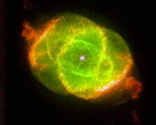 New 11x14 Space Photo: Cats Eye Nebula by Captured by Hubble Space Telescope
