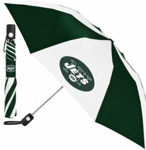 New York Jets Auto Folding Umbrella