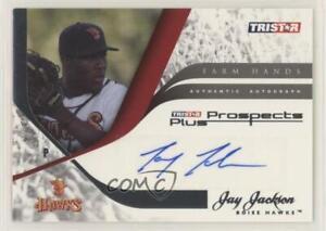 2008 TRISTAR Prospects Plus Farm Hands Authentic Jay Jackson #FH-JJ Auto