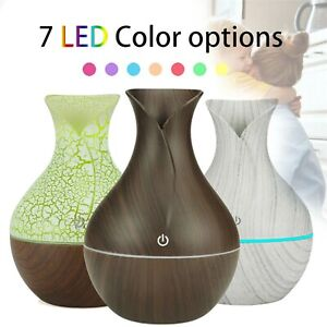 Ultrasonic Aroma Humidifier USB 7 Colors Essential Oil Diffuser Led Air Purifier