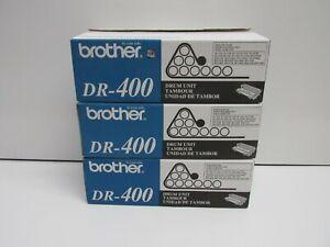 LOT OF 3! GENUINE BROTHER DR-400 DRUM UNIT HL-1030