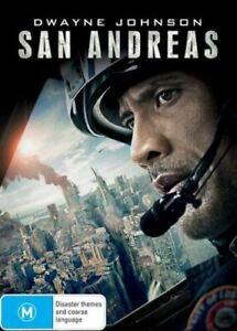 San Andreas (DVD, 2015) Action / Adventure / Thriller REGION 4 - Dwayne Johnson
