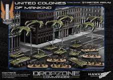 Hawk Wargames Dropzone Commander BNIB - UCM starter army (Plastic)
