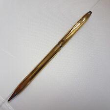 """""""BRIGI"""" Mechanical Pencil, From 1960's, Gilded"""