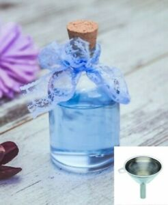 Small Glass Bottles With Corks, 50ml x 130, Wedding Favours with Mini Funnel