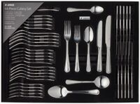 Judge 44 Piece Beaded Cutlery Set 18/10 Stainless Steel Boxed 25 Year Guarantee