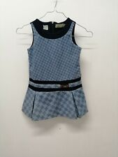 Vestitino TRUSSARDI JUNIOR Taglia Size 4 Anni Dress Child Pull Woman Lana 7344
