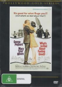What's So Bad About Feeling Good? – George Peppard New and Sealed DVD