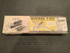 "Vintage Jetco Models F-51H ""Mustang"" Control Line Model Airplane Kit P-51"
