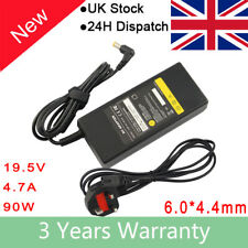 90W 19.5V 4.7A AC Adapter Battery Charger Power Cord for Sony Vaio VGP-AC19V37