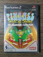 Pinball Hall of Fame The Gottlieb Collection (Sony PlayStation 2 2004) Brand New