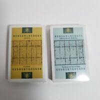 Vintage Benson & Hedges Double Deck Playing Cards Sealed unopened