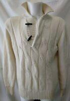 maglione uomo lana marina militare taglia L