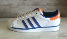 Adidas Men's Superstar White Leather Rivalry VS Classic Sneakers Originals Shoes