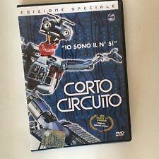 CORTO CIRCUITO RARO DVD VENDITA EDIZIONE SPECIALE - 1a edizione STORM VIDEO
