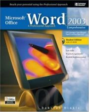 Microsoft Office Word 2003: A Professional Approac