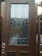 Wooden Door with Glass 34 x 80