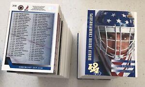 1993-94 Upper Deck Hockey Complete Series 1 & II 575 card set**High Grade