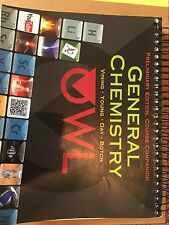 General Chemistry, Preliminary Edition 2014