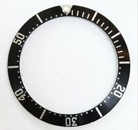 Black bezel ring insert fits watch replacement 2551