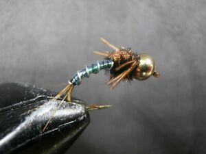 1 DOZEN TUNGSTEN HEAD LIGHTING BUG NYMPHS FOR FLY FISHING-TUNG-66