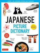 Japanese Picture Dictionary By Timothy G. Stout Hardcover