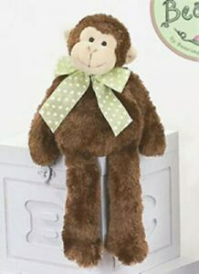 """NEW  Bearington Collection  #199203 Mo the Monkey 15"""" with Tags - Retired"""