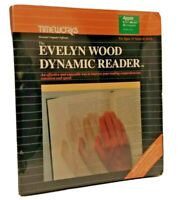 VTG Evelyn Wood Dynamic Reader 1984 By TimeWorks For Apple II II+ IIc NEW SEALED