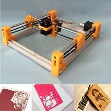 500MW Desktop Mini Laser Engraving Cutting Machine DIY Logo Printer Kit Orange