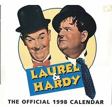 LAUREL & HARDY 1998 OFFICIAL CALENDAR (SEALED)