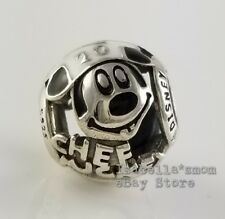 CHEF MICKEY MOUSE Authentic PANDORA Disney PARKS Epcot FOOD Charm 791802ENMX NEW