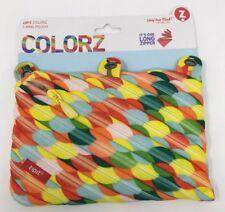 Zipit Colorz Multi-color Circle Design 3 Ring Pencil Case Pouch
