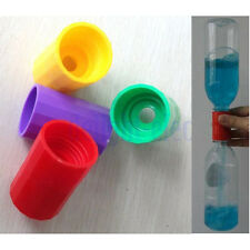 2pcs TORNADO TUBE Vortex Cyclone Bottle Connector Home School Physic Science DE
