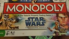 Monopoly Star Wars The Clone Wars The Galactic Property Trading Game Board Game