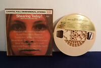 George Shearing, Shearing Today, T1T 2699, 4 track 3.75 IPS Reel To Reel, Jazz
