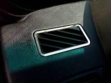 D bmw x5 e53 cromo marco para ventilación-acero inoxidable pulido 2 piezas