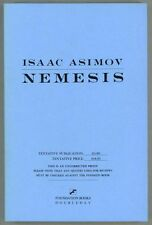 Nemesis by Isaac Asimov (Uncorrected Proof) - High Grade