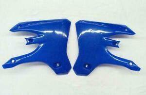 UFO Plastics Reflex Blue Radiator Shrouds YZ250F YZ450F 2003-2005 YA03861-089