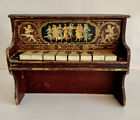 Victorian Toy Playing Piano Antique Dollhouse Furniture SCHOENHUT Works